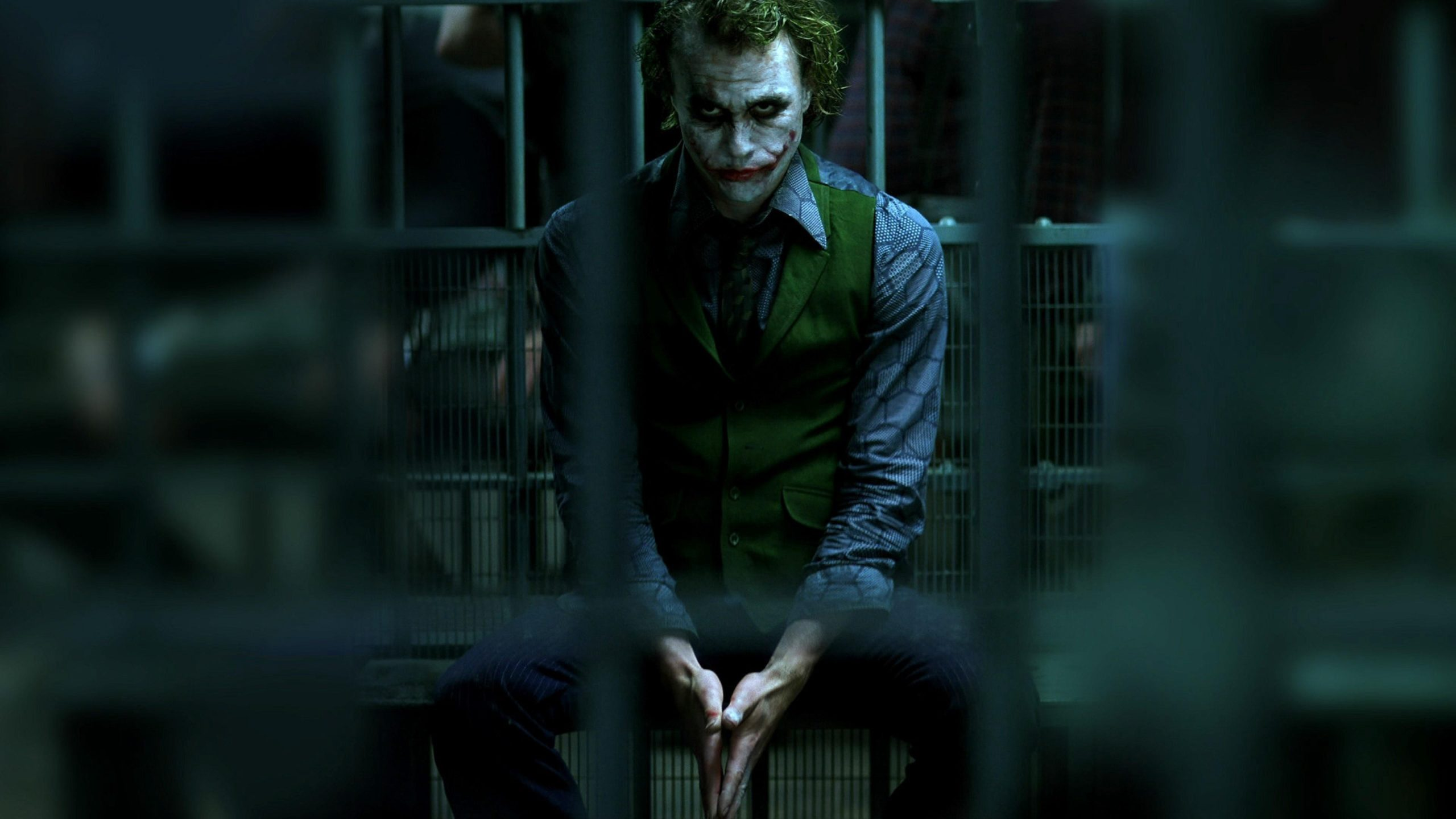 The Joker in Batman in The Dark Knight (2008)