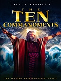 The Parting of the Red Sea Scene in The Ten Commandments (1956)