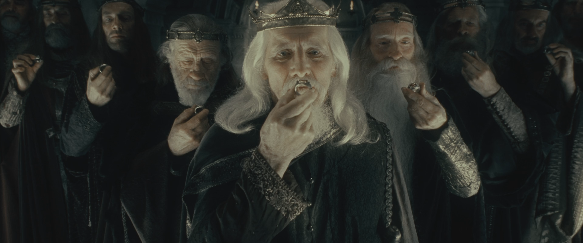 The Nine Rings gave its powerful men recipients more power, wealth, and extended lifespans.