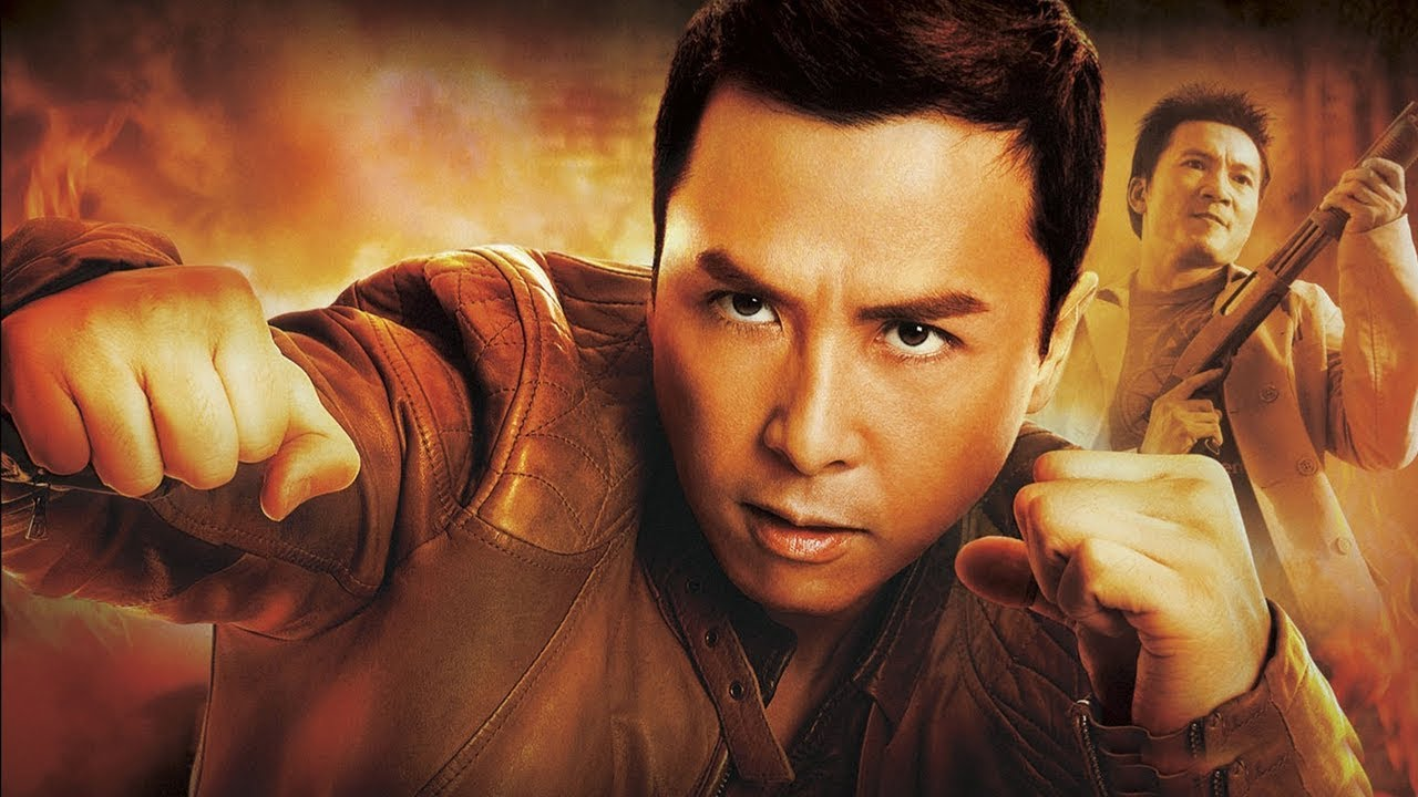 Donnie Yen vs Collin Chou in Flash Point (2007)